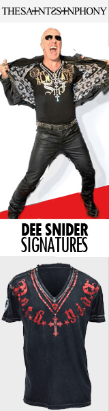 Saints Sinphony Dee Snider Signatures